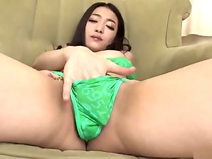 Ryu Enami Works Toys Over Her Pussy And Ass - More At