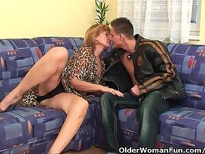grannie Gets Her unshaved muff Fucked Deep