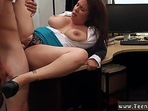 China big and bust mouth while blowjob MILF sells her husband s stuff for bail $$$