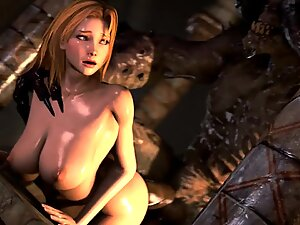 3D hentai big boobs milf fucking in bathtub Hardcore