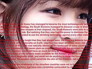 Giga Korean Giantess Invasion New World Order - Mr. Chu