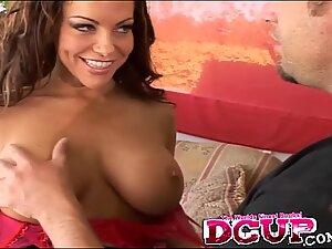 Victoria Valentino Rides A Big Cock