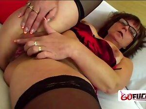 Kinky dude enjoys banging hot granny
