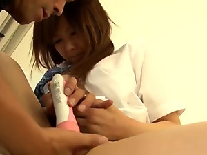 Complete sex with a teacher in hardcore for Miku Airi
