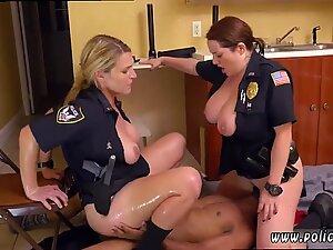 Milf handjob cum load creamy anal dildo Black Male squatting in home gets our milf