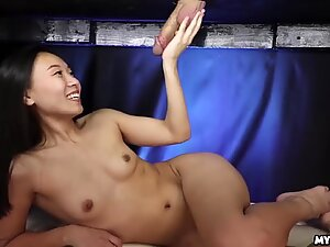 Innocent Asian Teen Enters the Mylked Zone