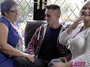 Stockinged old ladies